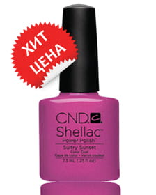 NEW 2014! Shellac Sultry Sunset