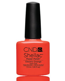 NEW 2014! Shellac Electric Orange