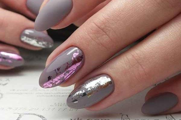 Фольга для ногтей как использовать, маникюр с фольгой - статья на сайте beauty-bonanza