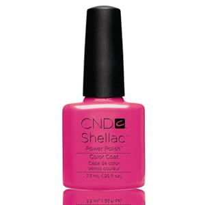 Гель-лак CND Shellac Hot Pop Pink, №519