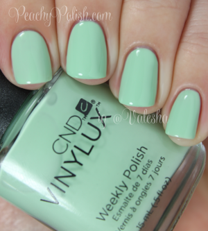 New 2014! Vinylux Mint Convertible
