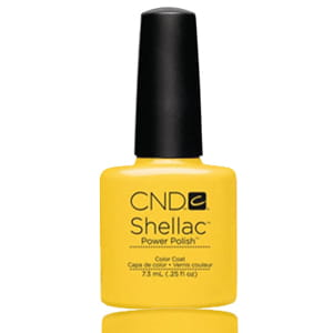 Гель-лак CND Shellac Bicycle Yellow