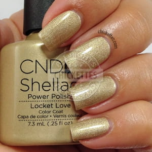 Гель-лак CND Shellac Locket Love