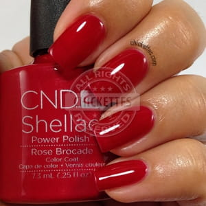 Осень 2014! Shellac Rose Brocade