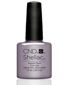 Гель-лак CND Shellac Alpine plum