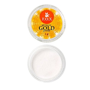 F.O.X Metalic mirror powder Gold, 1г