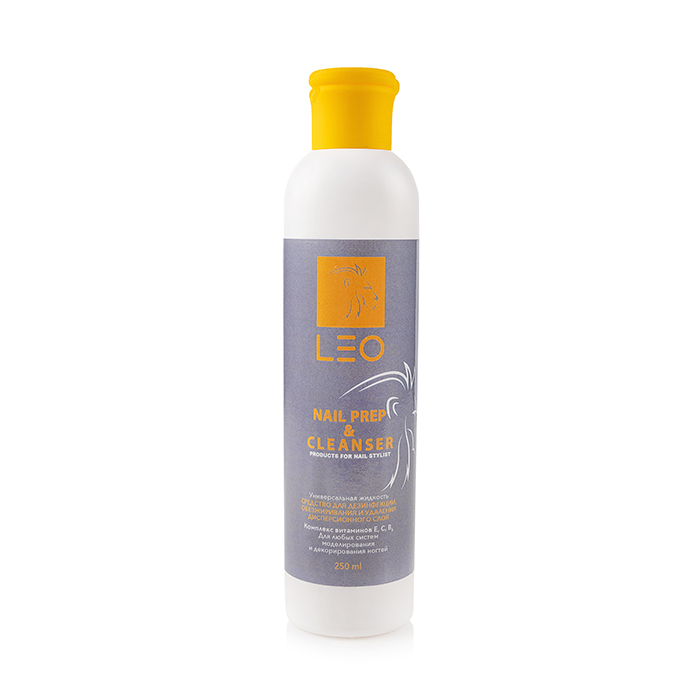LEO Cleanser and nail prep, 300 мл