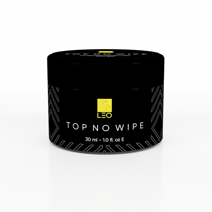 Гель-лак LEO Top No Wipe, 30 ml