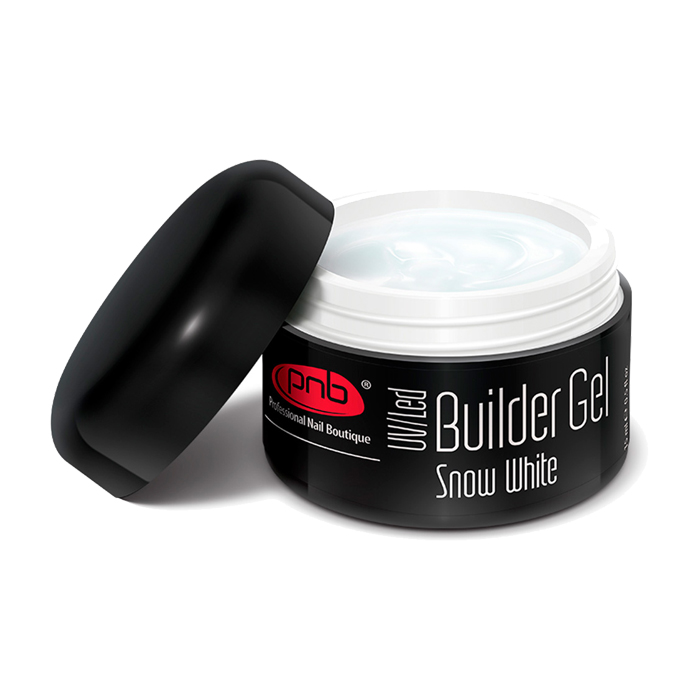 Гель камуфлирующий PNB Builder Gel Cover Snow White 15 ml