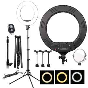 Кольцевая лампа BUCOS BCS R480 Ring Light 46 см со штативом