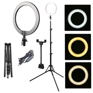 Кольцевая лампа BUCOS BCS R180 Ring Light 26 см сo штативом
