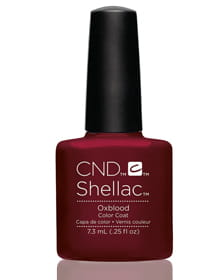 Гель-лак Shellac Oxblood!