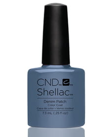 Гель-лак Shellac Denim Patch!