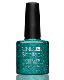 Гель-лак Shellac Emerald Lights!