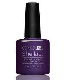 Гель-лак Shellac Eternal Midnight!