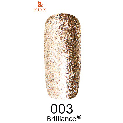 Гель-лак F.O.X Gold Brilliance 003 (6 мл)
