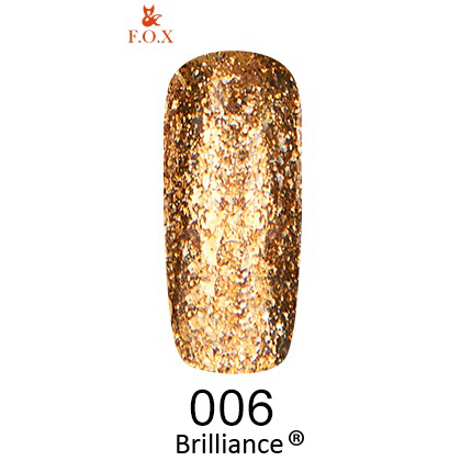 Гель-лак F.O.X Gold Brilliance 006 (6 мл)