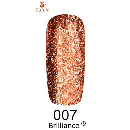 Гель-лак F.O.X Gold Brilliance 007 (6 мл)