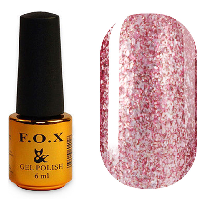 Гель-лак F.O.X Gold Brilliance 012 (6 мл)