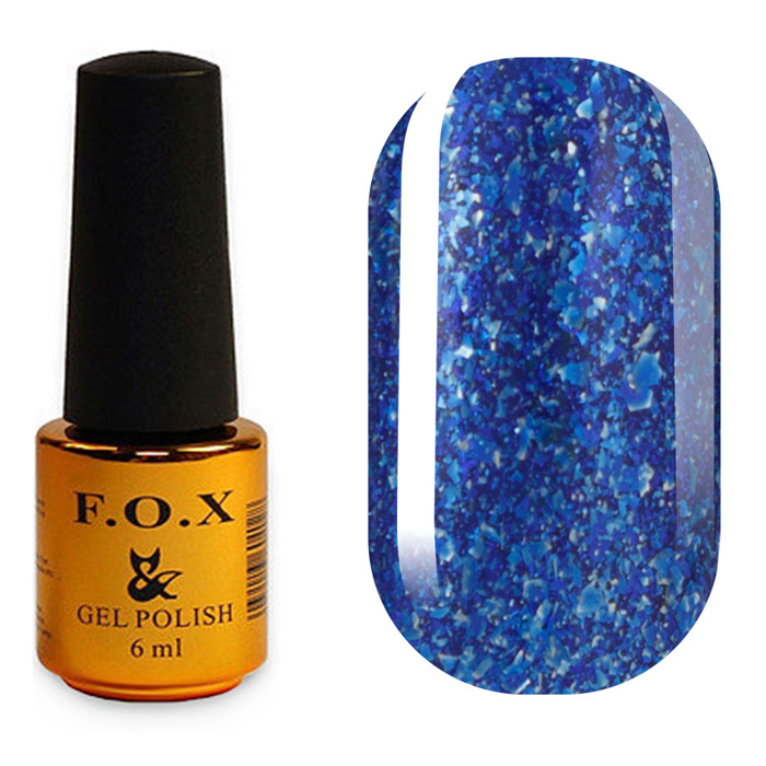 Гель-лак F.O.X Gold Brilliance 020 (6 мл)