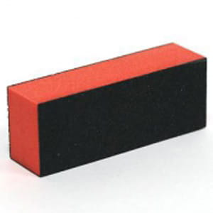 Block Buffer Orange-Black