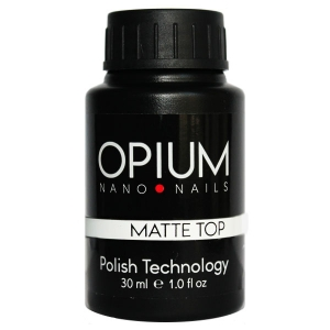 Гель-лак OPIUM Matte Top 30ml
