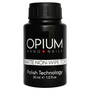 Гель-лак OPIUM Matte Non-wipe Top 30ml