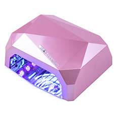LED+CCFL Лампа Diamond 36W ROSE CHAMPAGNE