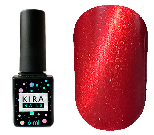 Гель-лак Kira Nails Cat Eye №001