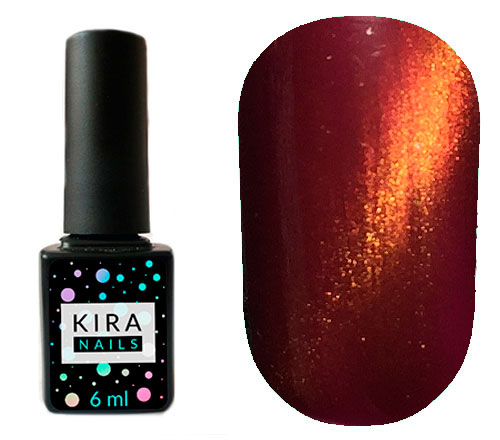 Гель-лак Kira Nails Cat Eye №002