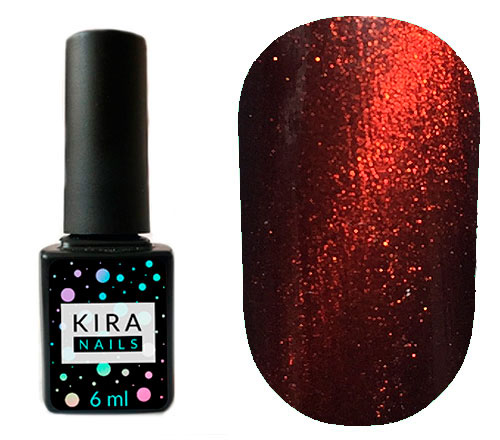 Гель-лак Kira Nails Cat Eye №004