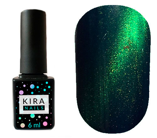 Гель-лак Kira Nails Cat Eye №005