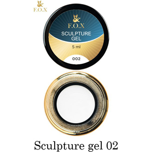 Гель-пластилин F.O.X Sculpture gel 002, 5 мл