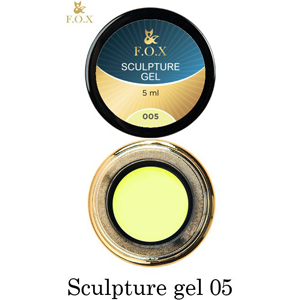 Гель-пластилин F.O.X Sculpture gel 005, 5 мл