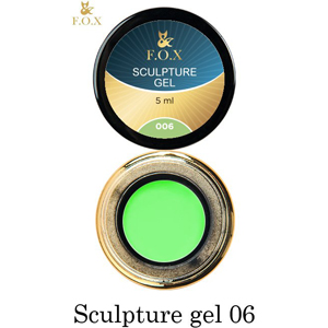 Гель-пластилин F.O.X Sculpture gel 006, 5 мл