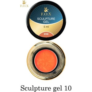 Гель-пластилин F.O.X Sculpture gel 010, 5 мл