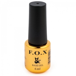 Гель-лак F.O.X Rubber Base 3D 6 ml